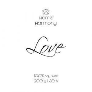 Свеча «Love», 200 мл