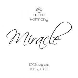 Свеча «Miracle», 200 мл