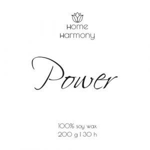 Свеча «Power», 200 мл
