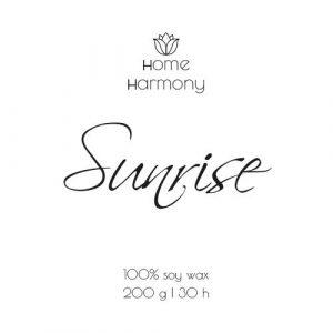 Свеча «Sunrise», 200 мл