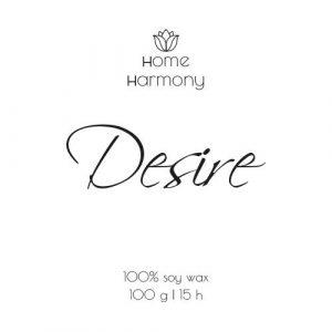Свеча «Desire», 100 мл