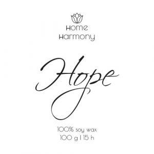Свеча «Hope», 100 мл