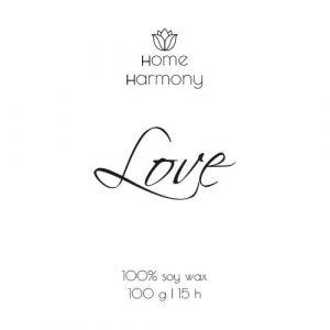 Свеча «Love», 100 мл