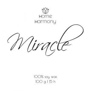 Свеча «Miracle», 100 мл