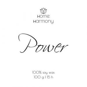 Свеча «Power», 100 мл