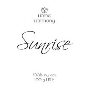Свеча «Sunrise», 100 мл